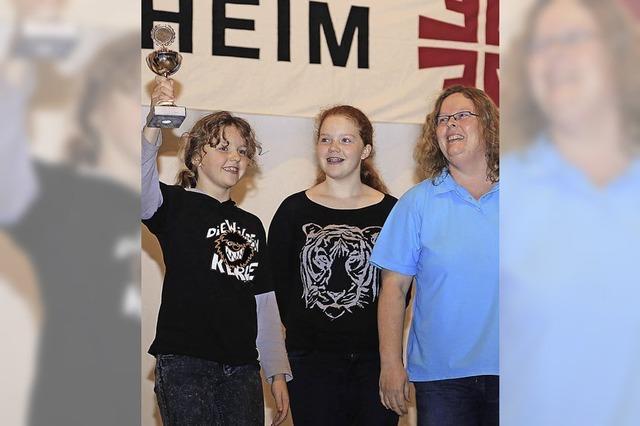 Hochburg bei Abnahme des Sportabzeichens
