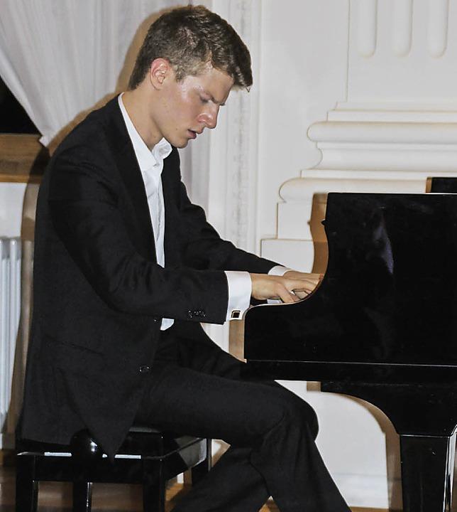 Das letzte Programm der Klosterkonzert... einem Fest extravaganter Pianoklänge.  | Foto: Margrit Matyscak