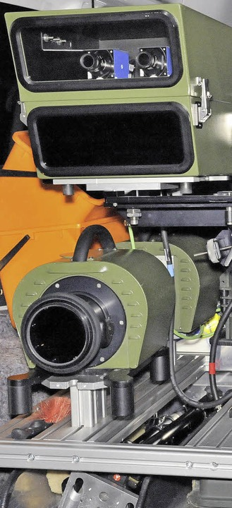 Das Landratsamt erblitzt mit seinem Poliscan-Gerät 322000 Euro im Jahr.    Foto: Markus Zimmermann