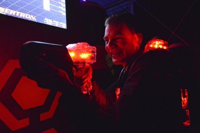 Eröffnung des Laser-Space in Freiburg