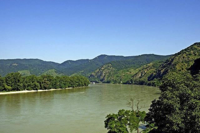 Bildpräsentation von Peter Stecher über die Donau