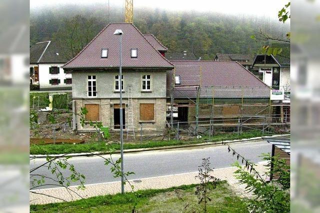 Rege Bautätigkeit im Tal