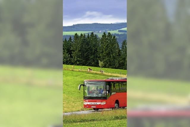 Wanderbus an Brückentagen