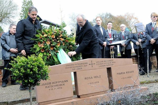Gedenken an Fliegerbomben-Opfer