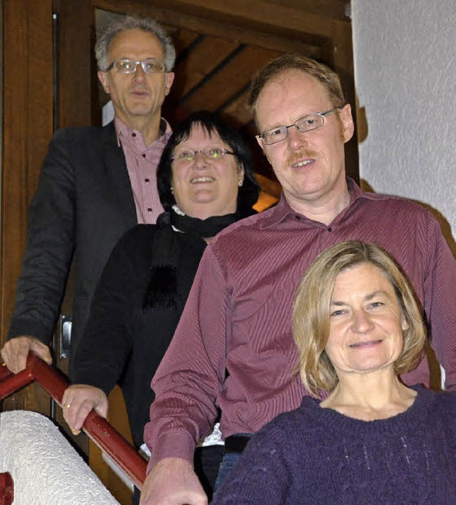 Der neu gewählte Gemeinschafts-Vorstan...Christian Heichel und Britta Schuler.   | Foto: Proprenter
