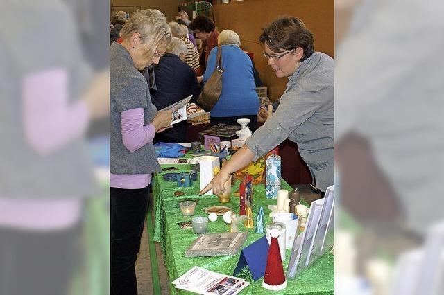 Ein Markt als Treffpunkt für Brombacher Frauen