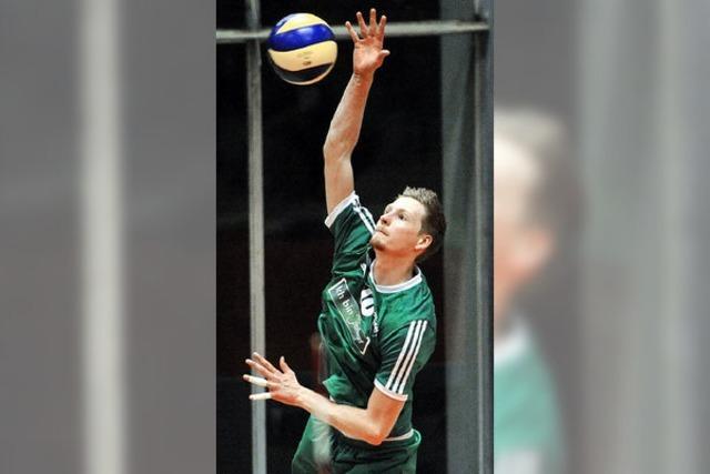Freiburger Volleyballer bissig bis zum letzten Punkt
