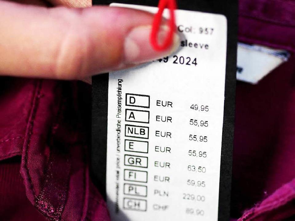Fast 50 Euro für ein  Oberteil – ist das viel oder wenig?  | Foto: Oliver Berg