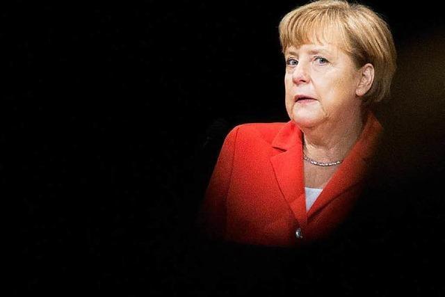 Merkel warnt vor Flächenbrand durch Ukraine-Krise