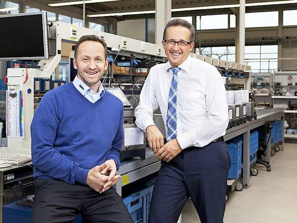 Joachim und Daniel Huber (Bild links, ...ür ihre Mitarbeiter stets ansprechbar.  | Foto: PR / Unternernehmen
