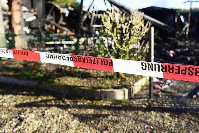 Hat eine geöffnete Gasflasche die Explosion im Wohnwagen ausgelöst?