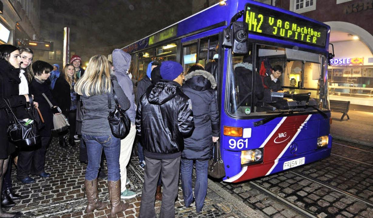 Das Safer-Traffic-System der VAG erfre...tz von Straßenbahnen statt Bussen vor.  | Foto: Rita Eggstein