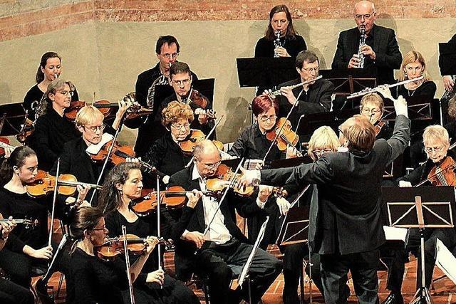 Das Musikkollegium Freiburg konzertiert in Müllheim und Freiburg