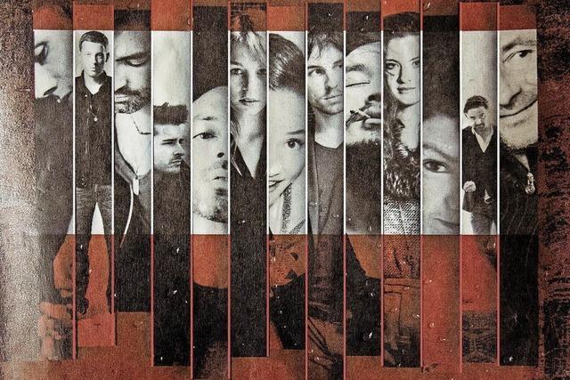 The Rumours mit dem Who is Who der Schweizer Musikszene in der Kuppel
