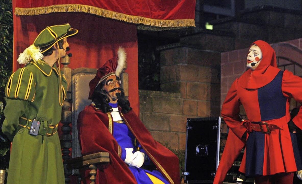Der Kaiser verleiht den Geroldseckern ...rktrecht für ihren Hauptort Seelbach.   | Foto: heidi fössel