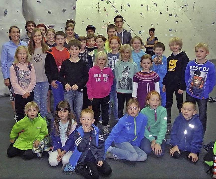 Das Klettern ist ein neues Projekt im ...es Ski-Clubs Altglashütten sehr groß.   | Foto: Privat