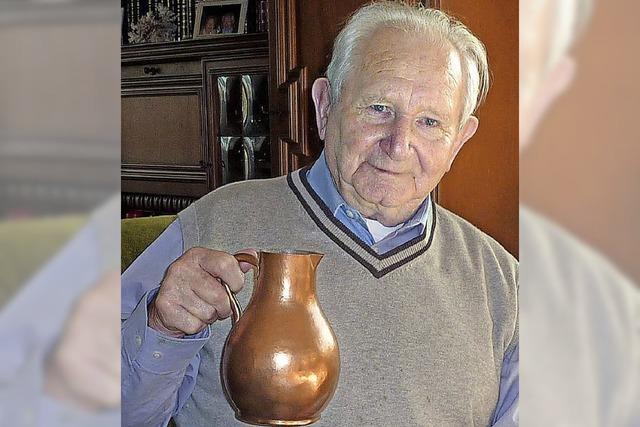 Karl Herr wurde 90 Jahre alt