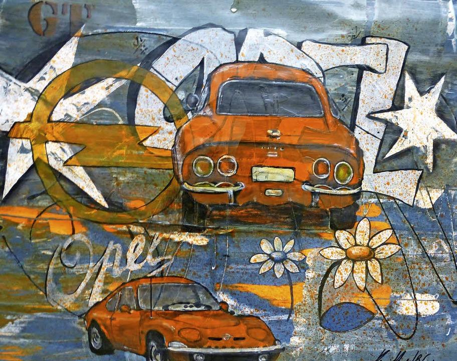 Karin Hengstler: Opel GT   | Foto: Karla Scherer