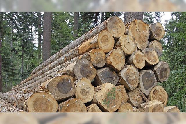 Douglasienholz ist gefragt und teuer