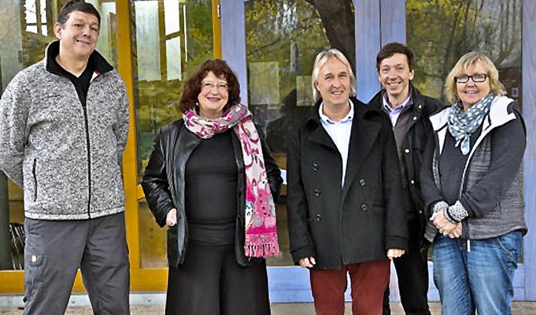 Lehrer der Oberstufe und der Geschäfts...ck (Geschäftsführer), Bettina Danner.   | Foto: Leisinger