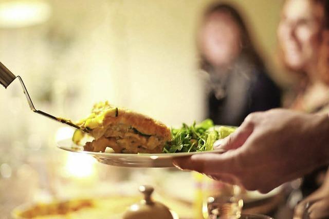 Lasagne mit unbekannten Gästen