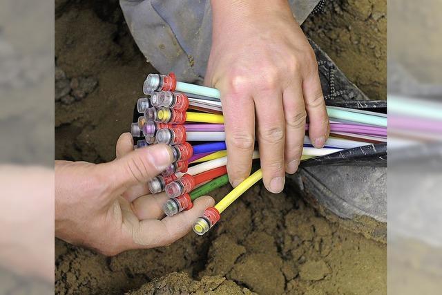 Gemeinde baut Breitbandnetz und will es dann vermieten