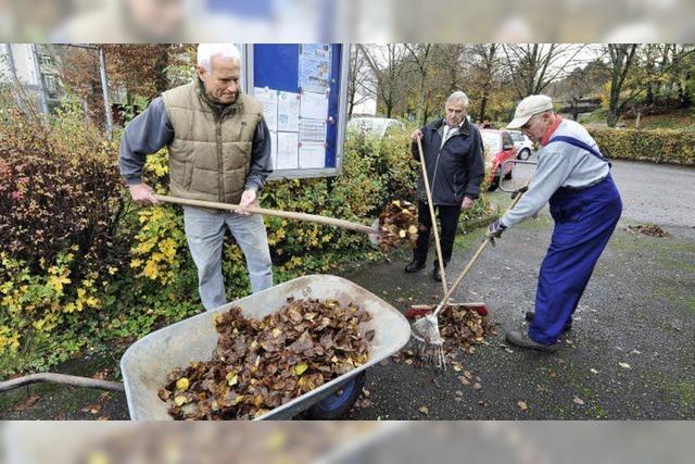 Wenn rüstige Rentner richtig reinigen