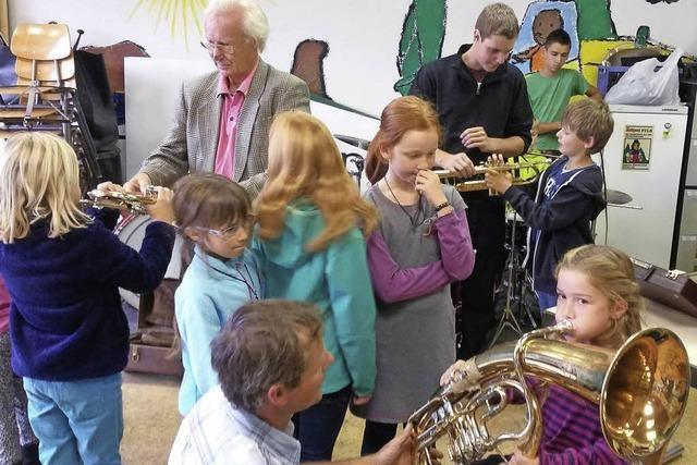 Ausbildung an der Klarinette