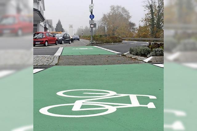 An der Bühlstraße haben Radler wieder Vorfahrt