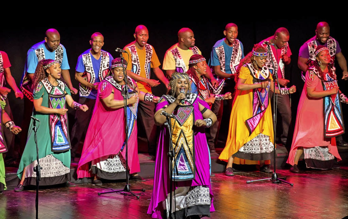 Wollen Botschafter der freudvollen Sei...: die Sänger des Soweto Gospel Choirs   | Foto: promo