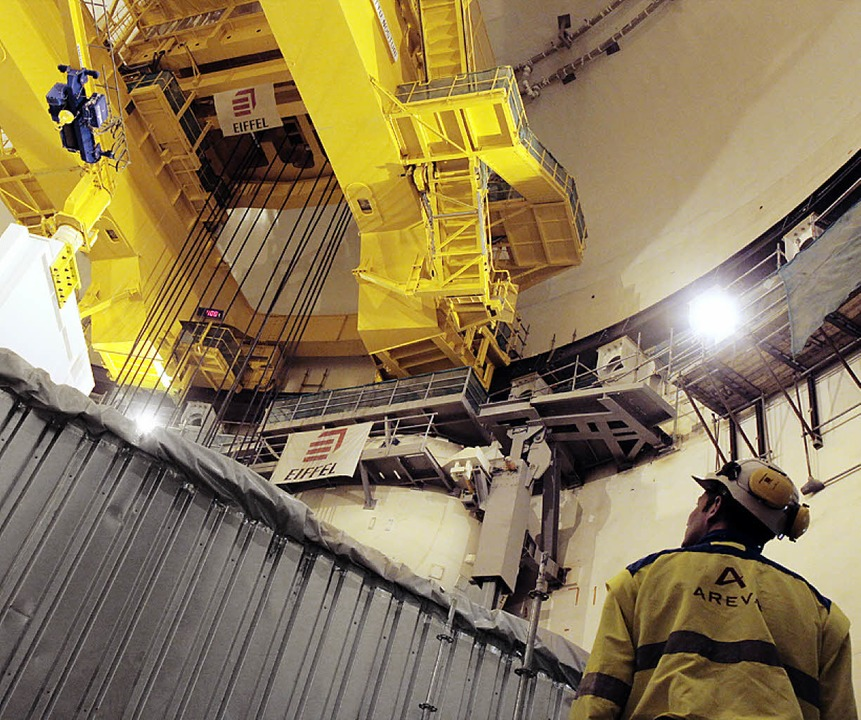 Ist ein riesengroßer Verlustbringer: A...Kernkraftwerk im finnischen Olkiluoto   | Foto: AFP