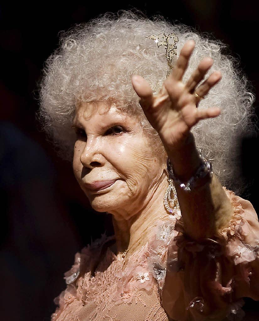 Die milliardenschwere Herzogin Alba ist gestorben ...