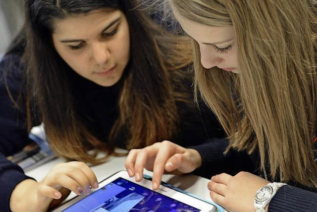 Umgang mit neuen Medien: Deutsche Schüler im Mittelfeld