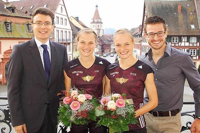 Das weltweit schnellste Marathon-Zwillingspaar