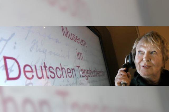 """Neues Museum im Deutschen Tagebucharchiv: """"Wir können zeigen, was wir haben"""""""