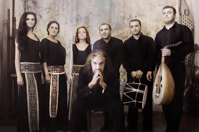 John Hodian & The Nagash Ensemble gastierten in Brombach