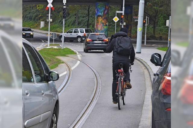 Weiler Autofahrer und Radler müssen sich auf die Tram einstellen