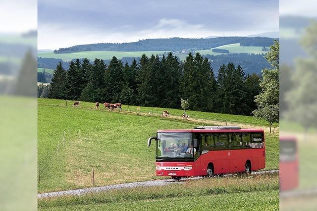 Regiobusse für ländlichen Raum