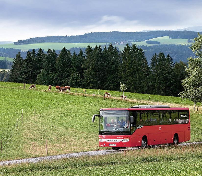 Regiobusse sollen Landbewohner zu den Zügen bringen.     Foto: BZ