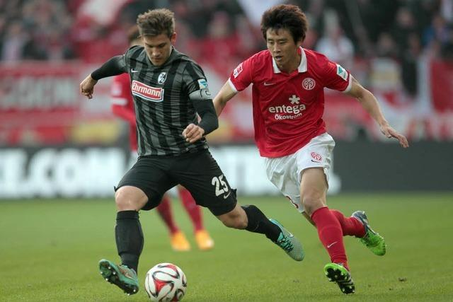 Liveticker: FSV Mainz 05 gegen SC Freiburg 2:2
