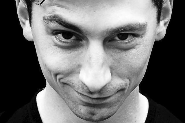 Der belgische Comedian Olivier Sanrey kommt nach Emmendingen