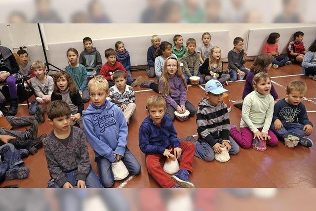Dörlinbach feiert seine Schule
