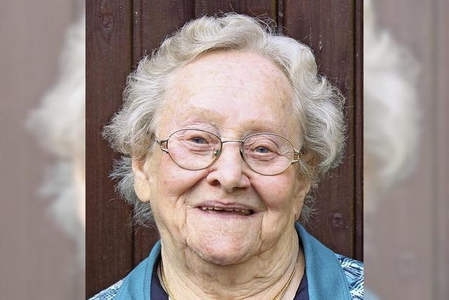 Mit 85 Jahren immer noch sehr aktiv