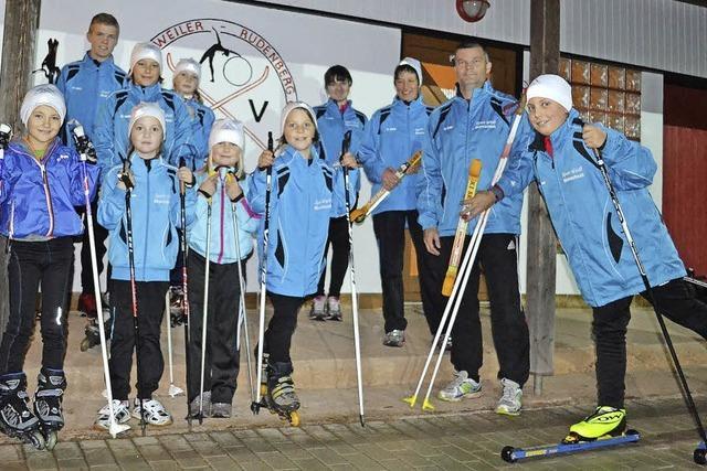 Skiroller für die Jüngsten