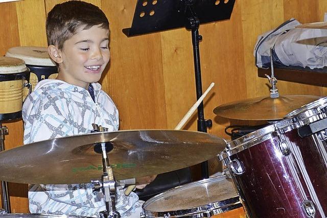 Musizieren geht bei der Hebelmusik über studieren