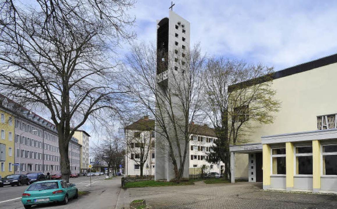 Sein Gesicht verändern wird das Areal der Thomaskirche im Stadtteil Zähringen.   | Foto: Michael  Bamberger