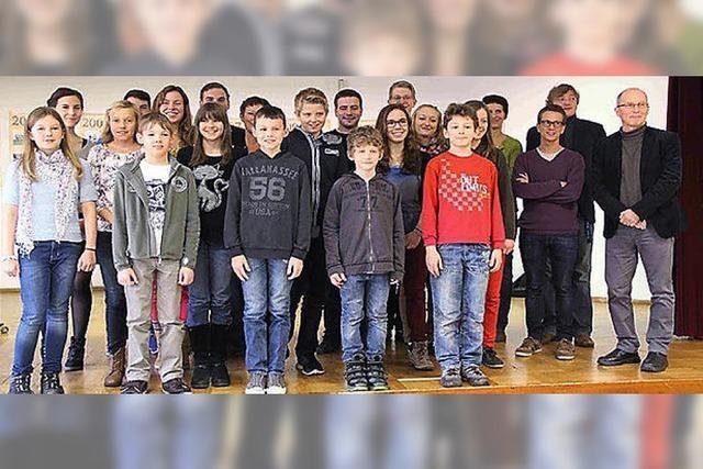 Musikverein Haltingen hat keine Nachwuchssorgen
