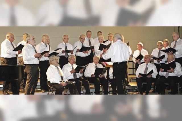 Sangeskunst hoch drei beim Gesangverein Rhenus