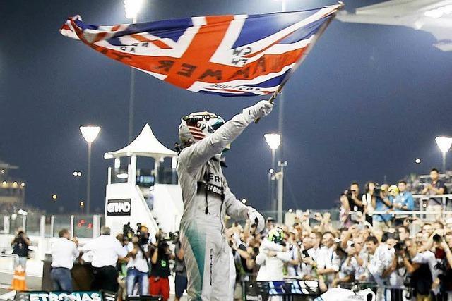 Rosberg chancenlos bei Hamiltons WM-Triumph