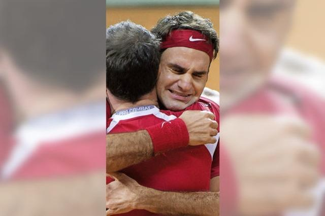 Die Schweiz triumphiert im Daviscup
